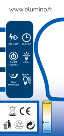 Découvrez le coté gauche du boitage Elumino
