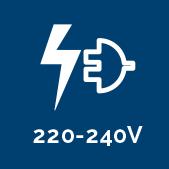 Indique le nombre de voltage de la lampe