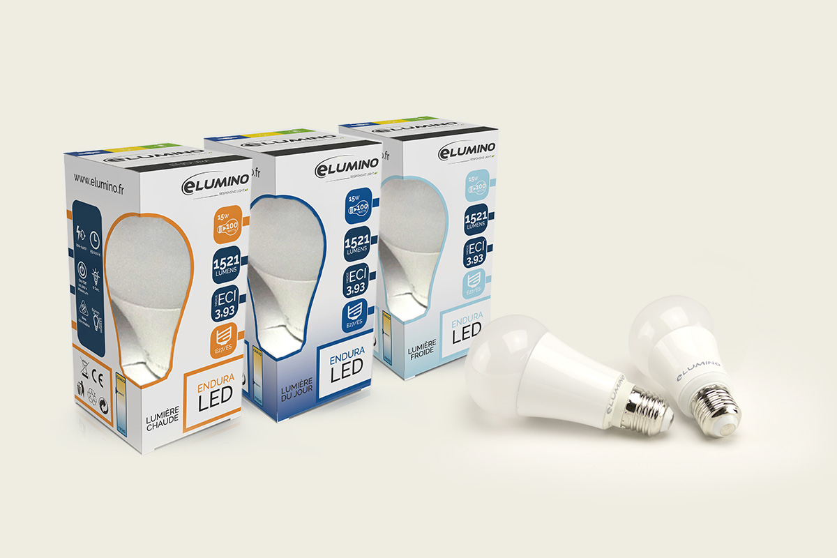 emballage produit 100% LED