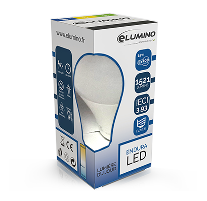 Gamme Elumino ENDURA lampe LED Standard lumière du jour
