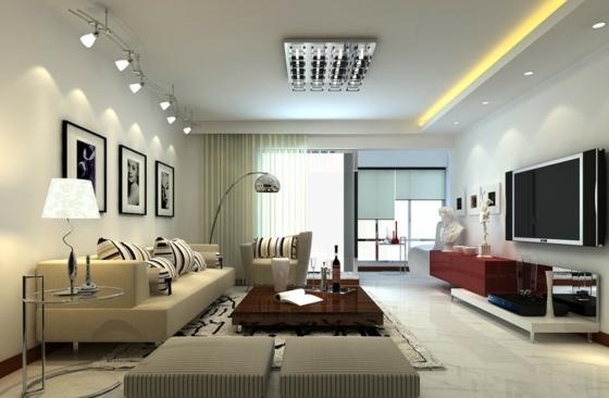 interieur maison eclairage led